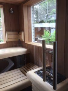 Wellness ruimte Whirlpool en sauna 6